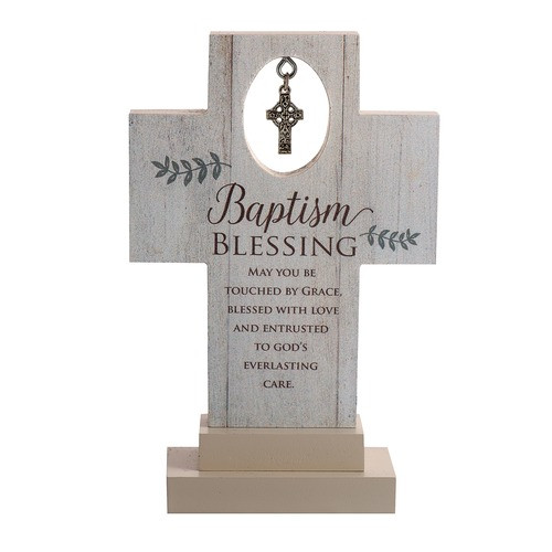 Baptism Blessing Standing Cross
