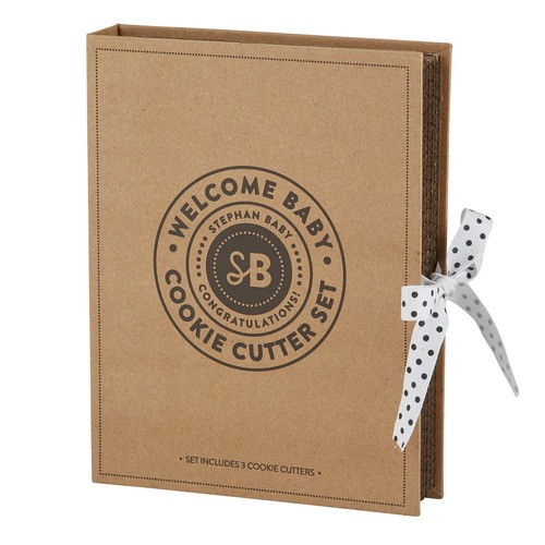 Baby Blessing Boxed Cookie Cutter Gift Set