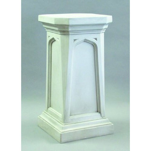 "Gothic Pedestal 43"" Church Goods Furniture"