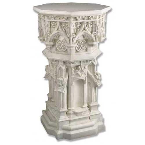 "Cathedral Pedestal 44"""