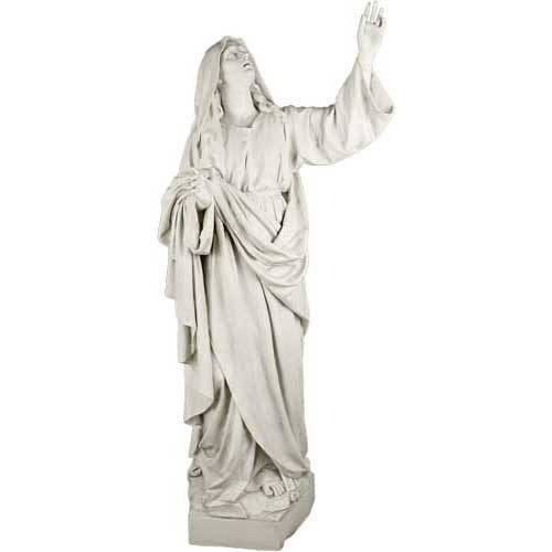 Mary At Crucifixion Statue