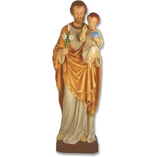 St Joseph And Child Statue