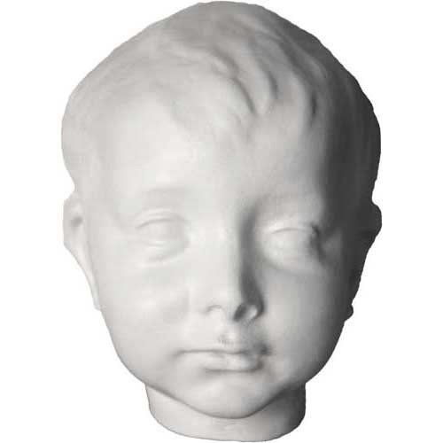 Face of the Infant Christ Statue