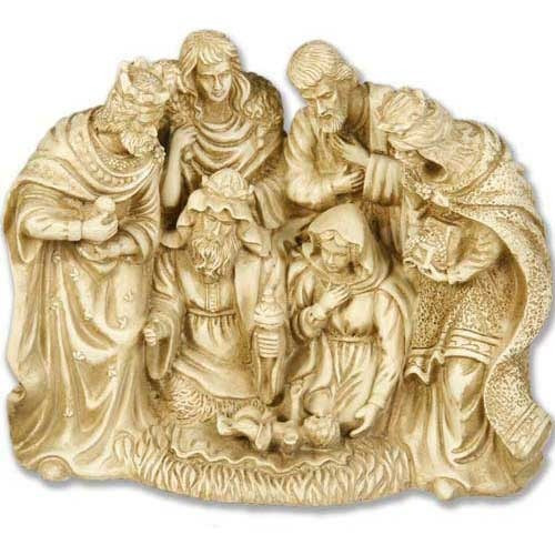 Centered Nativity 10""