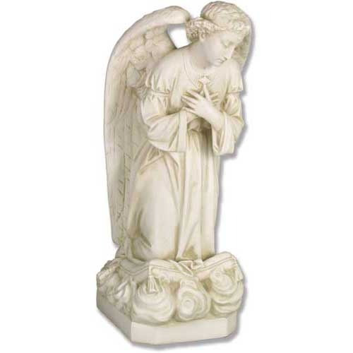 Angel Sorrow Kneel Cross 27""