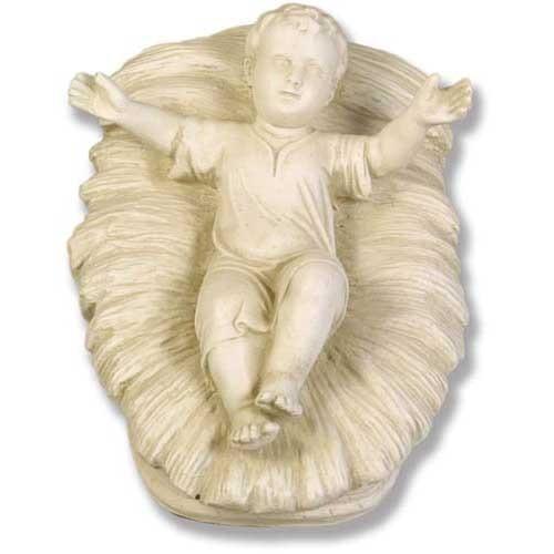 Baby Jesus In Manger  Statue