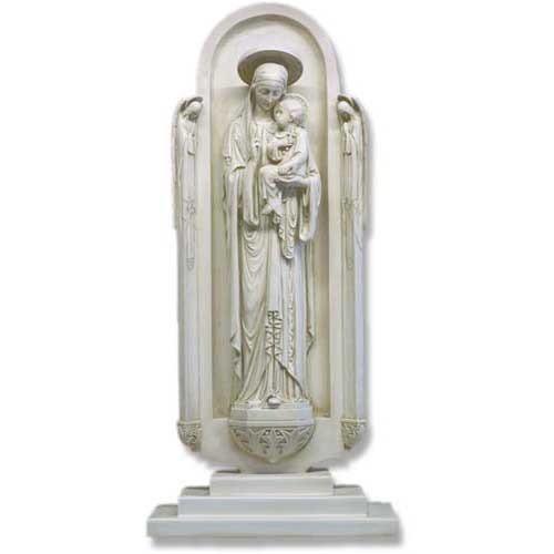 Blessed Virgin In Shrine Base