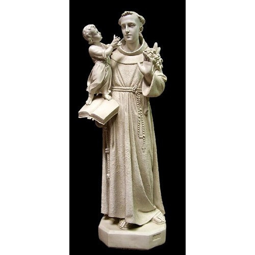 """St Anthony with Christ Child Statue - 53"""""""