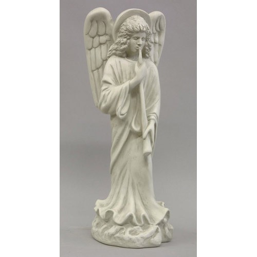 Angel with Horn Statue