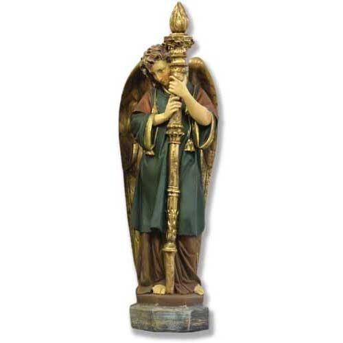 Majestic Angel Guard Statue