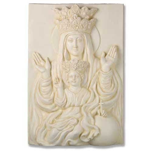 Mother & Child Plaque Rec 25""