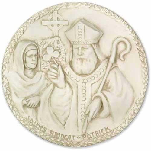 Saint Bridgette/ Patrick Plaque