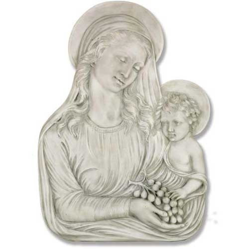 Madonna Eucharist Plaque