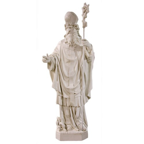 St. Patrick with Staff Statue