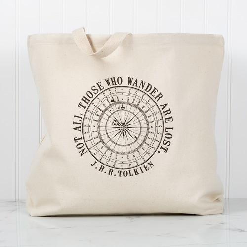 """""""Not All Who Wander"""" Tote"""