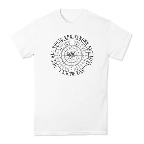 """Not All Who Wander"" T-Shirt"
