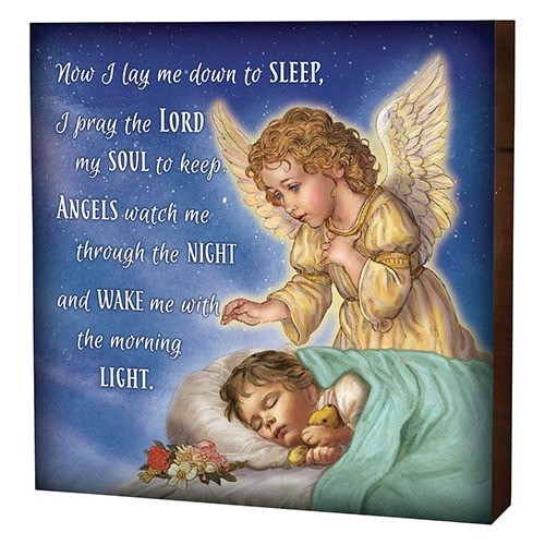 Bedtime Prayer Children's Plaque