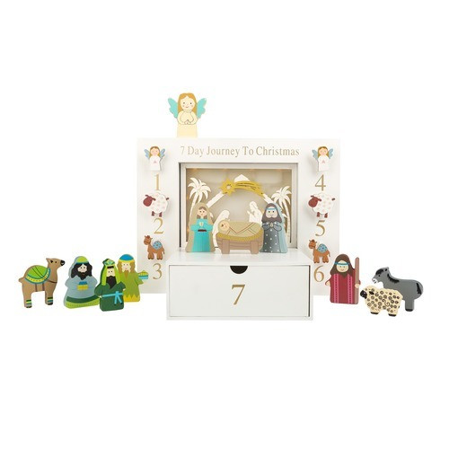 7 Day Journey To Christmas Kids' Nativity Set