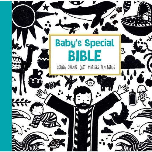 Baby's Special Bible (High Contrast B&W Illustrations)