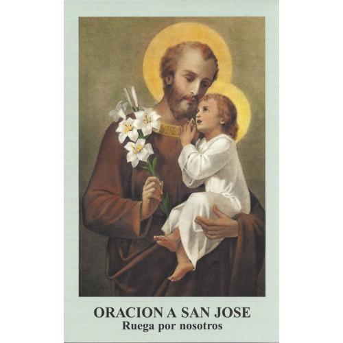 Oracion a San Jose - Paquete de 100 Tarjetas