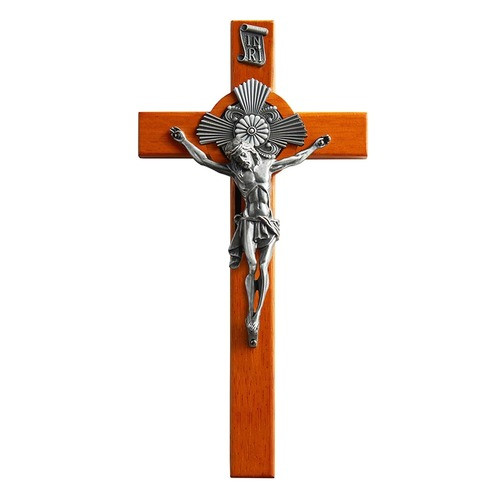 Crucifix with Baroque Halo