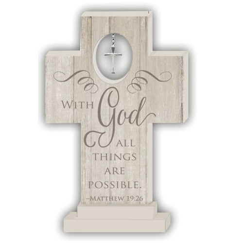 All Things Possible Standing Cross