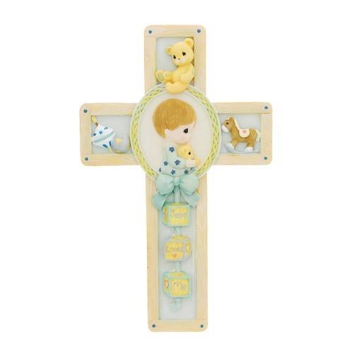 Jesus Loves Me Boy Cross