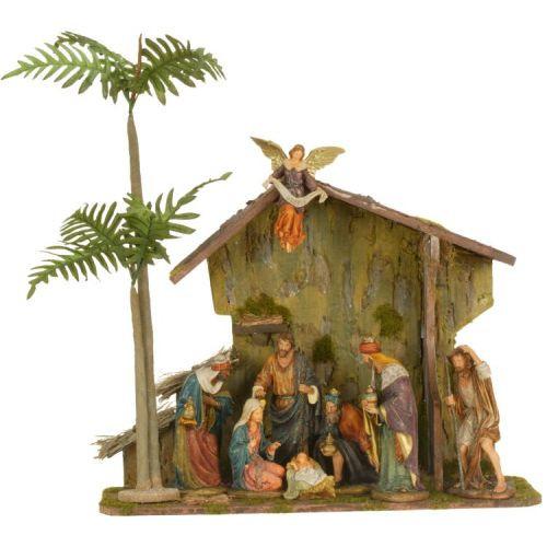 10 Piece Nativity Creche