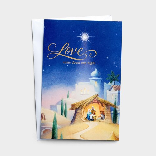 Love Came Down Boxed Christmas Cards - Set of 50