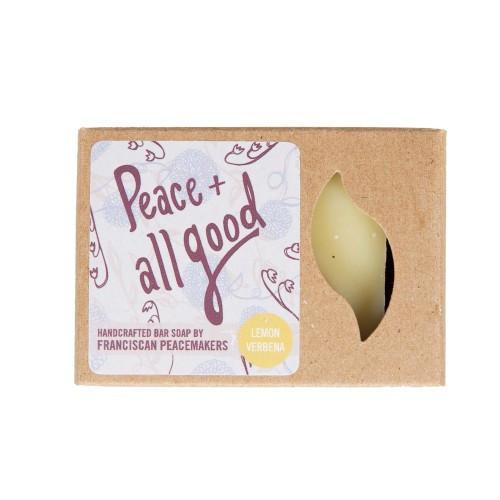 Peace & All Good Lemon Verbena Bar Soap