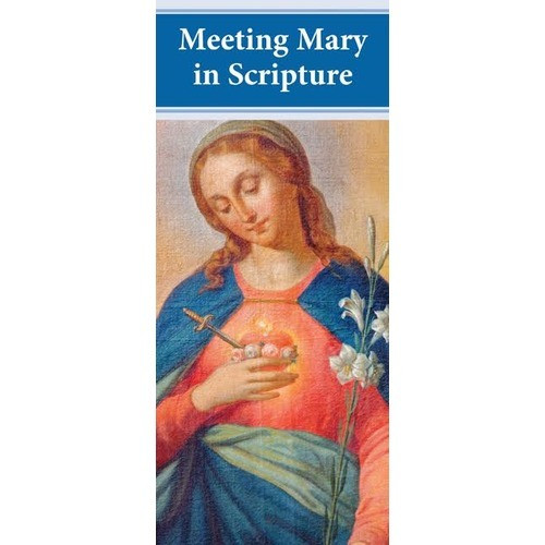 Meeting Mary in Scripture Pamphlets (50 Pack)