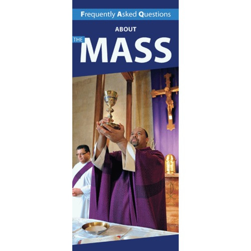 Frequently Asked Questions About the Mass Pamphlet (50 Pack)