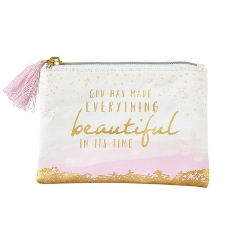 All Things Beautiful Rosary Keepsake Pouch