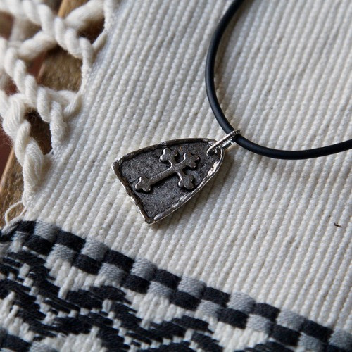 Arch Cross Necklace