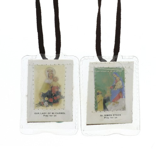 Laminated Brown Scapular