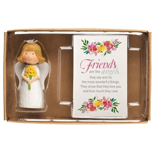 Friendship Angel Figurine with Prayer Card