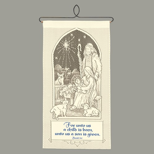 A Child Is Born Wall Hanging