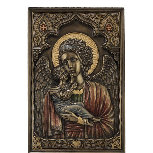 Guardian Angel Plaque 9''