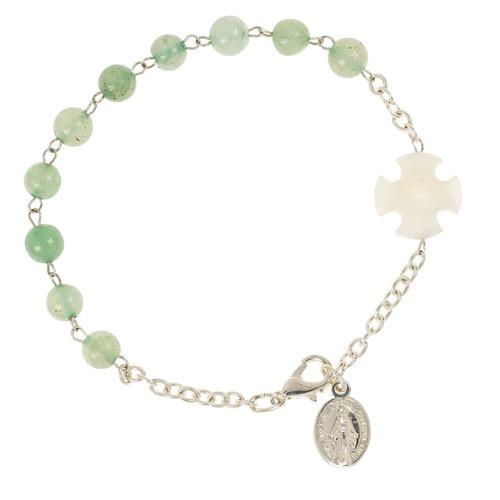 Aventurine Rosary Bracelet
