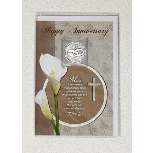Anniversary Greeting Card w/ Token