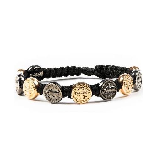 Black & Rose Gold Benedict Bracelet