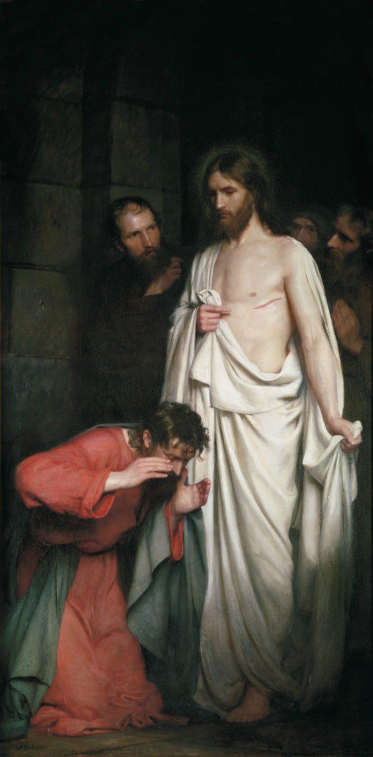Doubting Thomas by Carl Heinrich Bloch