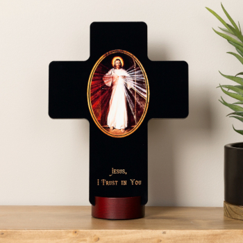 Divine Mercy Standing Cross