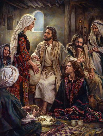 At Jesus' Feet - By Nathan Greene