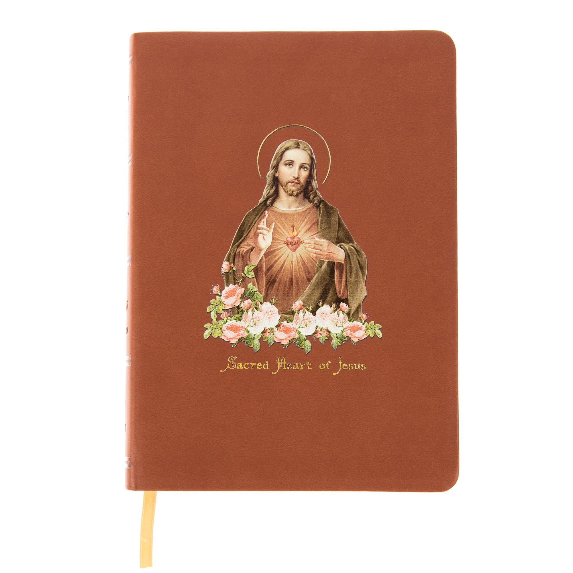 Vintage Sacred Heart Bible