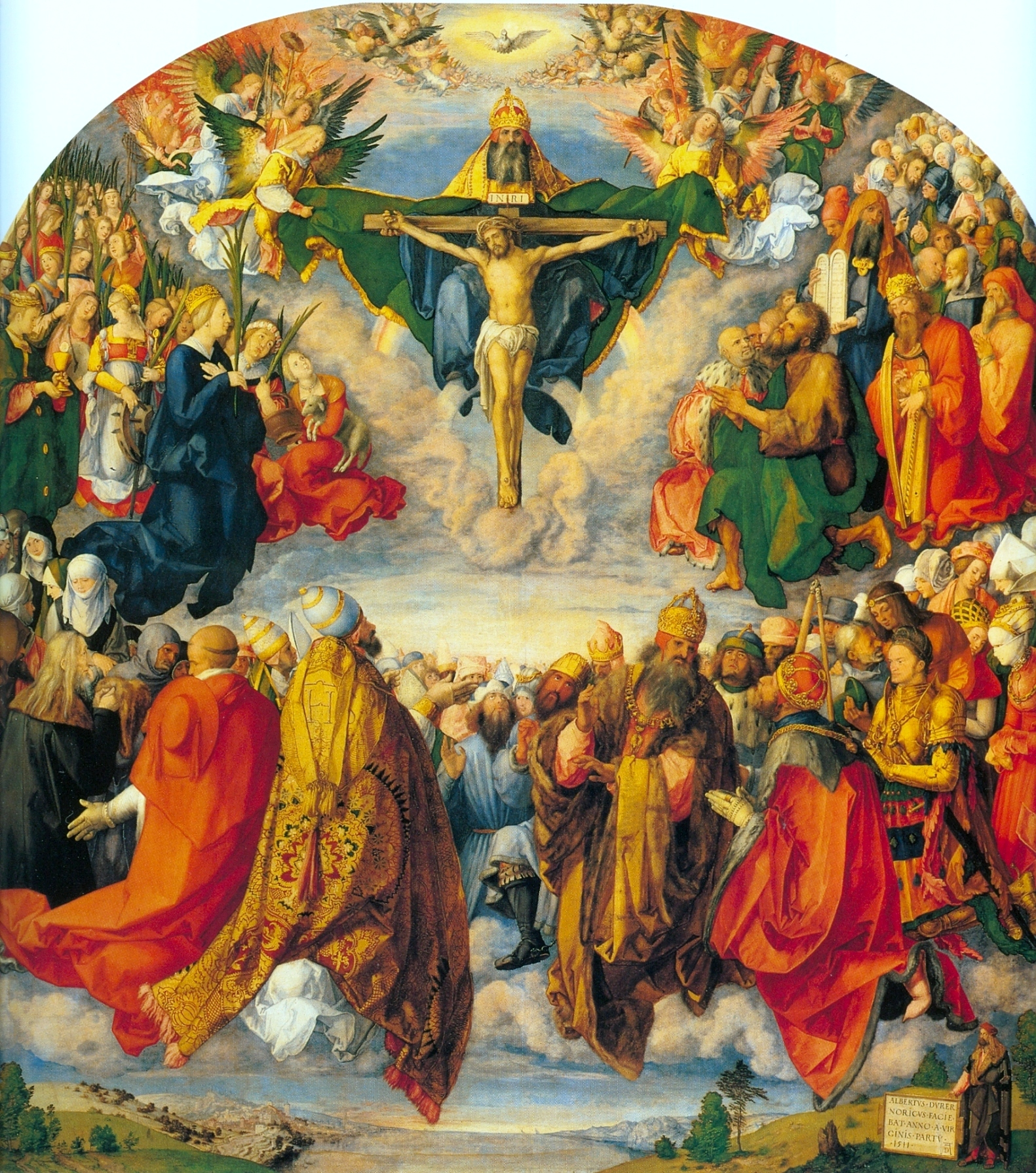 All the Saints in Heaven