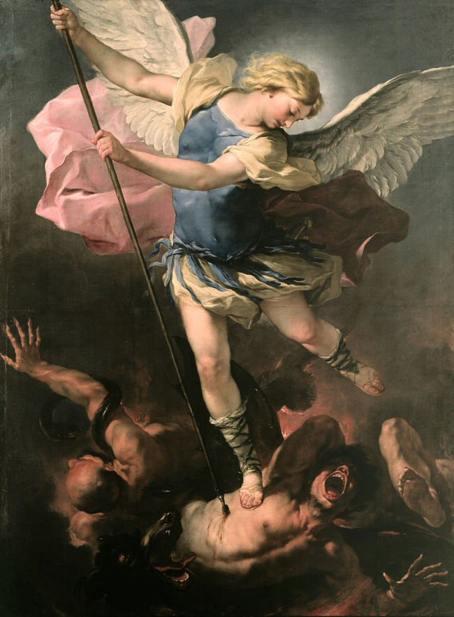 St. Michael bu Luca Giordano