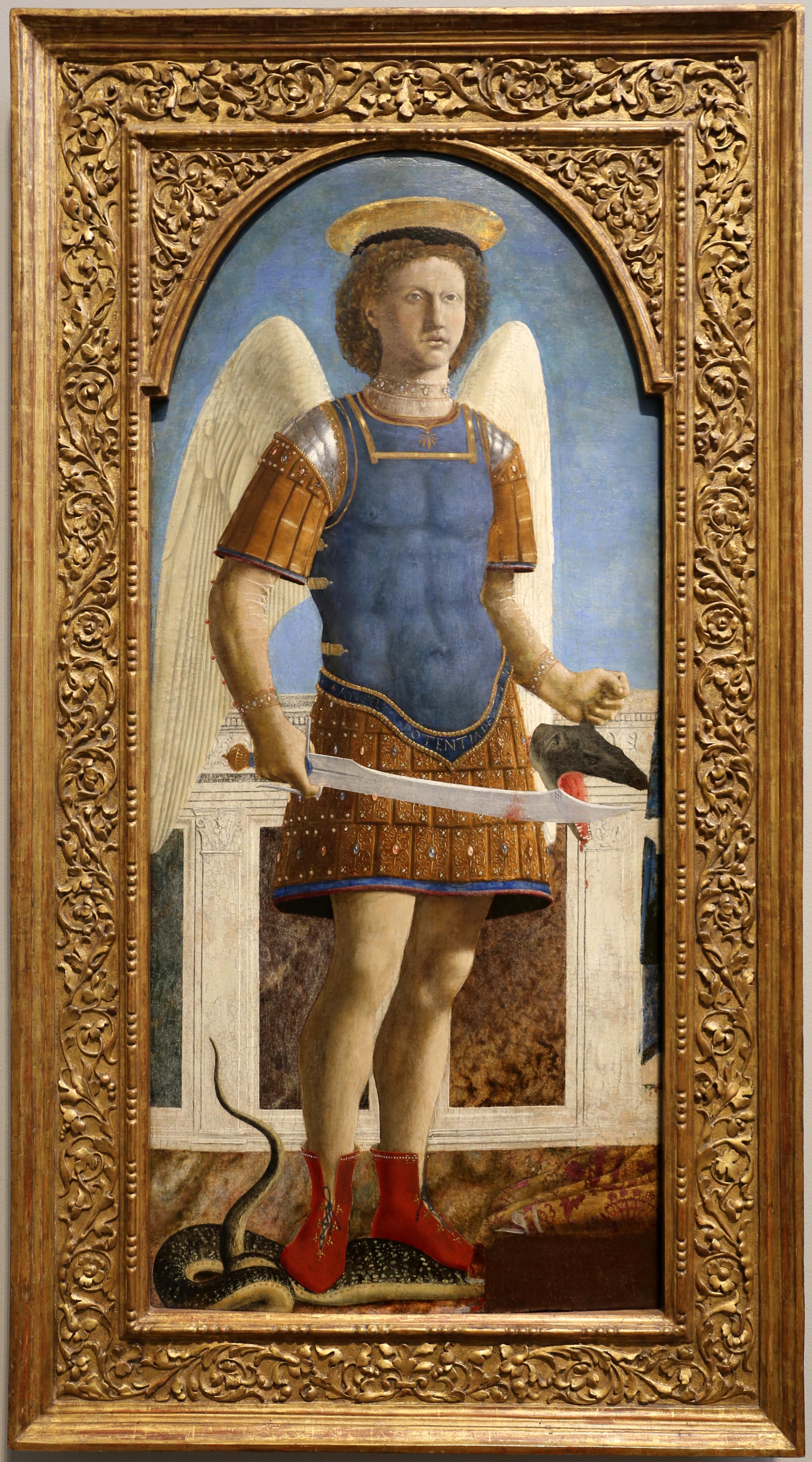 St. Michael by Piero della Francesca