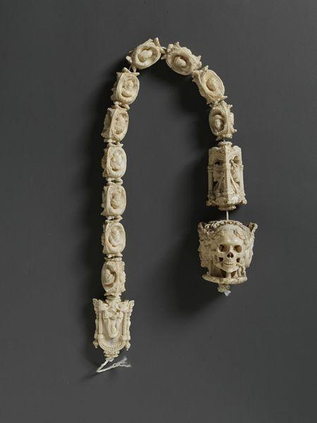 Ivory rosary