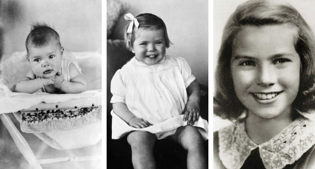 Childhood of Grace Kelly